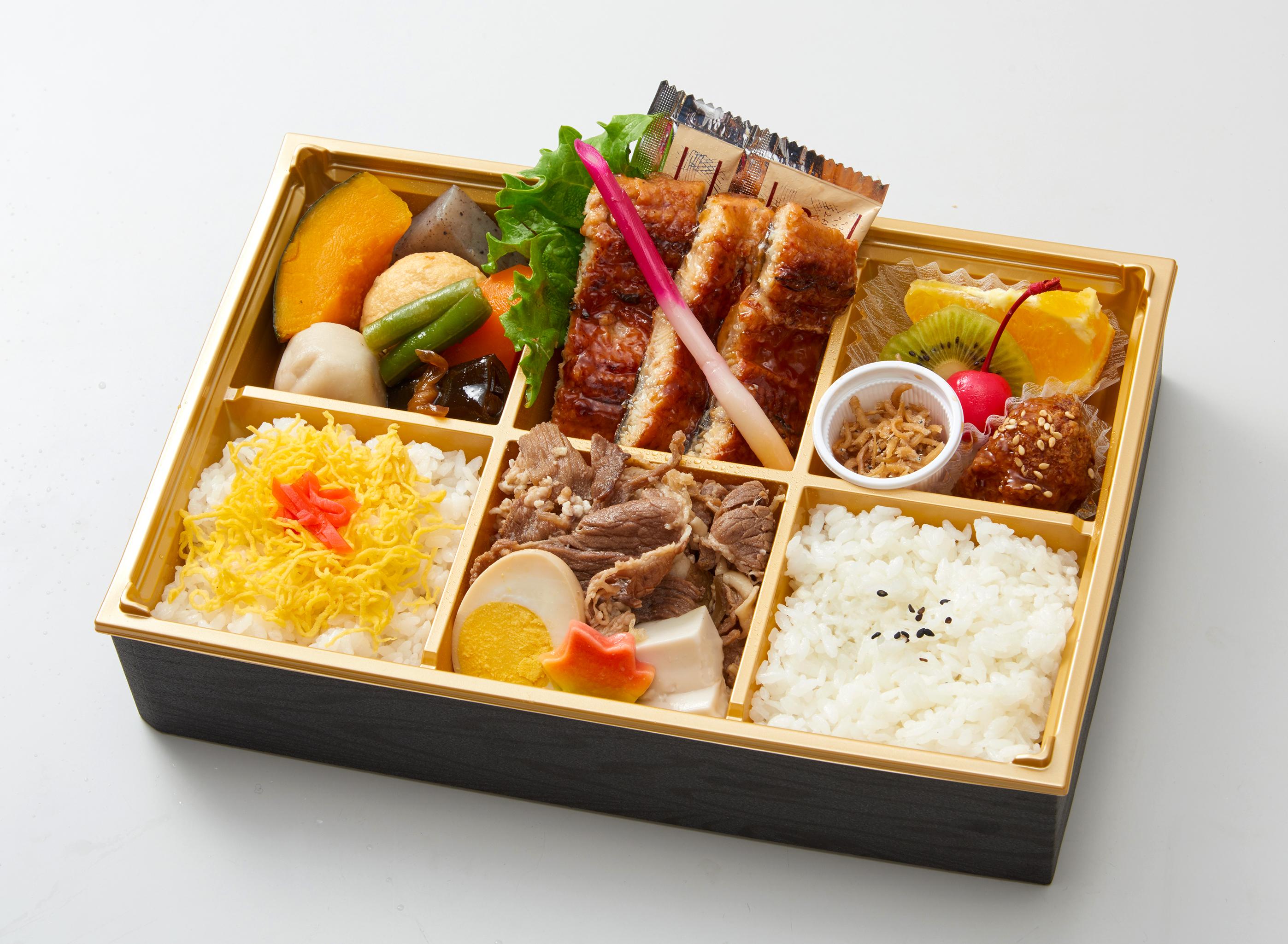 213牛すき焼き・鰻御膳